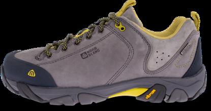 Šedé dámské kožené outdoorové boty DIVELIGHT - NBLC39B  a9d175794c