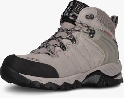 Šedé kožené outdoorové topánky MYSABRE
