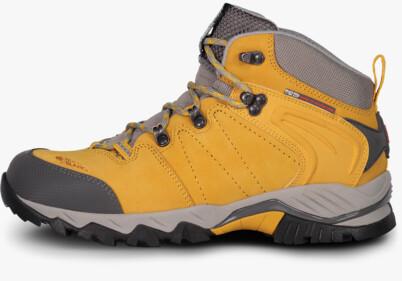 Žluté kožené outdoorové boty MYSABRE - NBLCM14