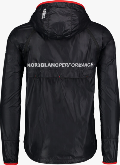 Čierna pánska ľahká športová bunda 2v1 LIFELONG - NBSJM5001