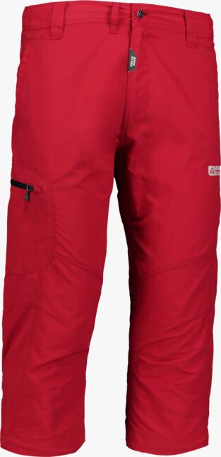 Červené pánske krátke outdoorové nohavice NEVABA - NBSPM2340