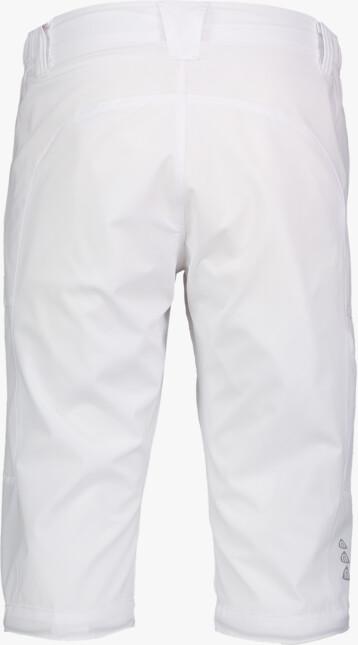 Biele pánske športové šortky MISSUDE - NBSPM2345