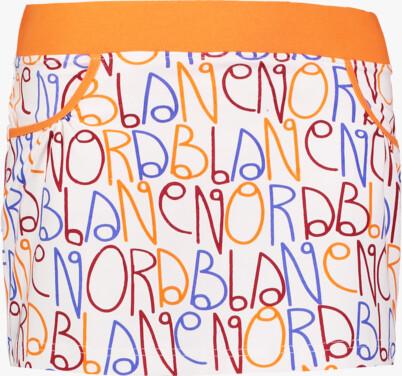 Oranžová dámska elastická úpletová sukňa YANDA - NBSSL2469