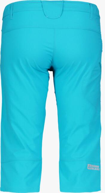 Modré dámské lehké outdoorové kraťasy FACILITY