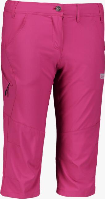 Ružové dámske ľahké outdoorové kraťasy FACILITY