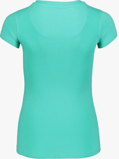 Zelené dámské elastické tričko SAP - NBSLT6218