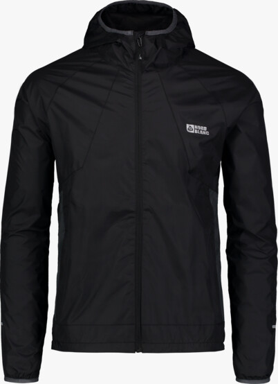 Čierna pánska ľahká športová bunda  FLOSS - NBSJM6603