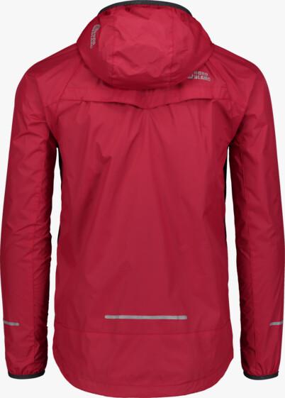 Červená pánska ľahká športová bunda  FLOSS - NBSJM6603