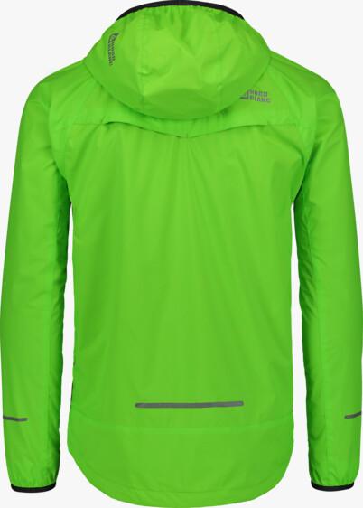 Zelená pánska ľahká športová bunda  FLOSS - NBSJM6603