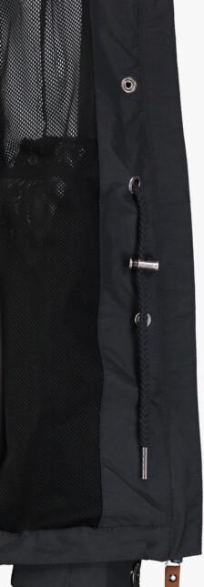 Jachetă lungă neagră ușoară pentru femei CENTURY