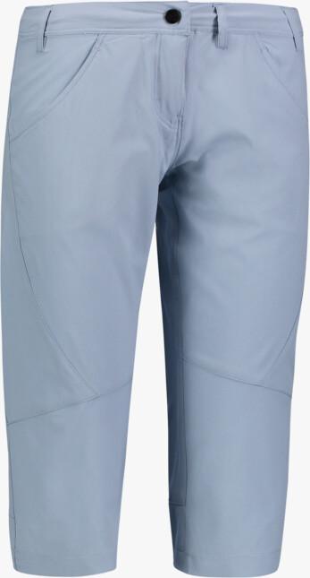 Modré dámské ultralehké outdoorové kraťasy DANDY