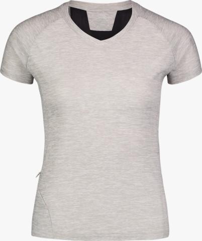 Šedé dámské tričko na běhání STOCK