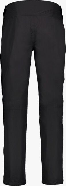 Čierne pánske celoprepínací outdoorové nohavice MANOGU