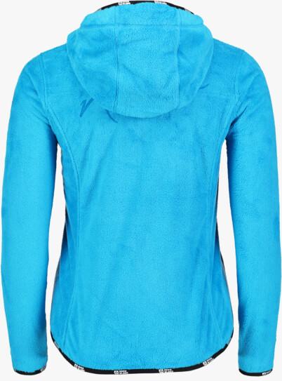 Modrá dámská fleecová mikina SECRET