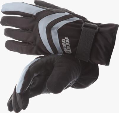 Black softshell gloves SPIRIT
