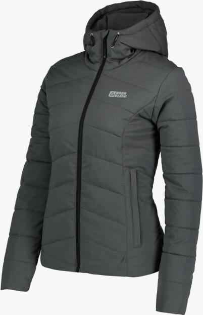 Šedá dámská zimní bunda REVERE