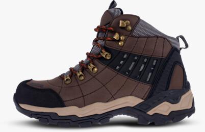 Barna férfi outdoor bőr cipő EARTH - NBHC86