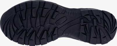 Šedé pánske kožené outdoorové topánky EARTH - NBHC86