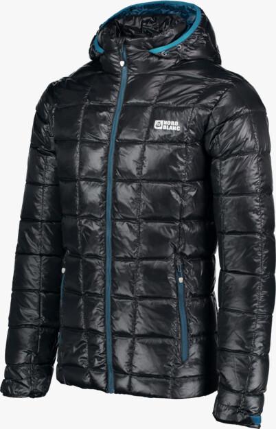 Men's black down jacket BLAZE