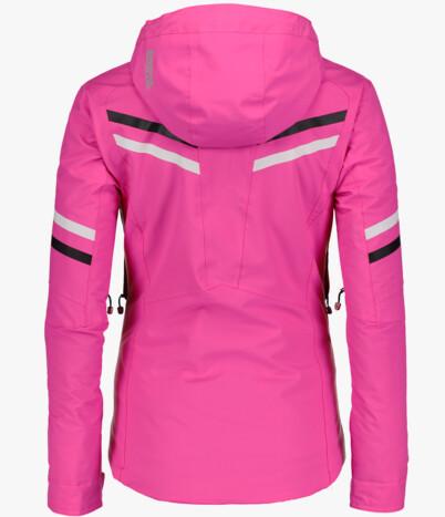 Růžová dámská lyžařská bunda STATELY