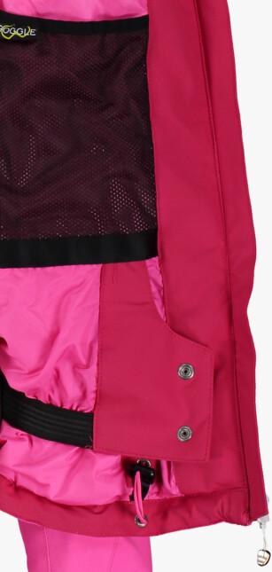 Jachetă de schi roz pentru femei TINGE