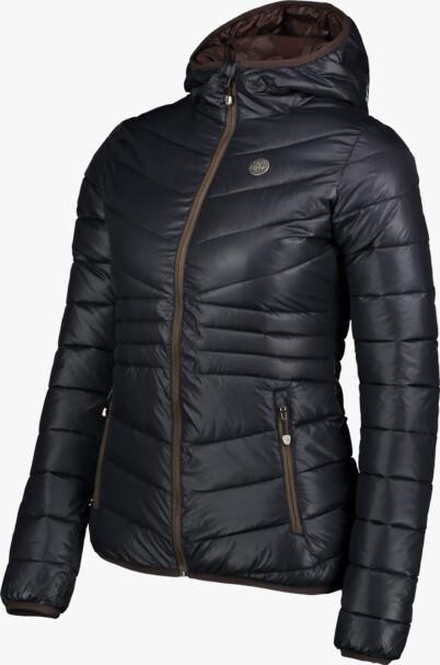Černá dámská prošívaná bunda GLAMOR - NBWJL6429