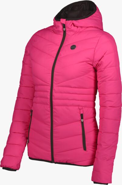 Růžová dámská prošívaná bunda GLAMOR