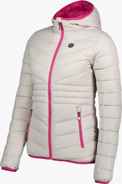 Jachetă matlasată gri pentru femei GLAMOR - NBWJL6429