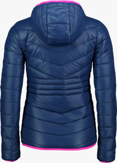 Modrá dámská prošívaná bunda GLAMOR