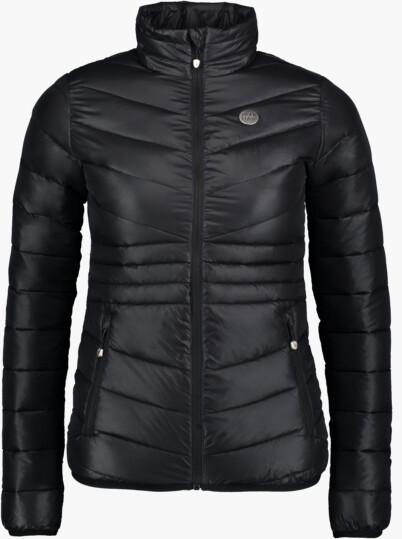 Černá dámská prošívaná bunda SAVOR