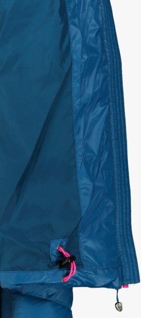 Modrá dámská péřová bunda GRITTY