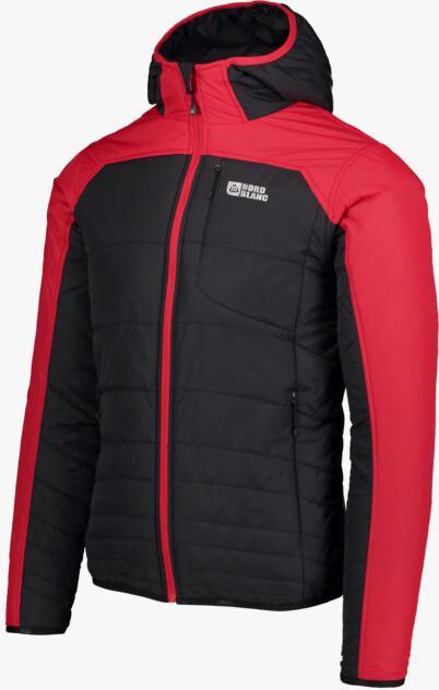 Čierna pánska športová bunda RAMBO - NBWJM6443