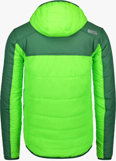 Zelená pánska športová bunda RAMBO - NBWJM6443