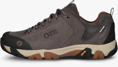 Szürke női outdoor bőr cipő DIVELIGHT