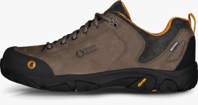 Černé pánské kožené outdoorové boty FIRSTFIRE - NBLC40