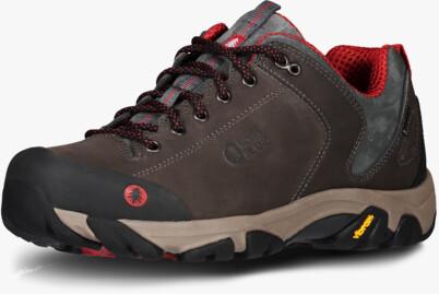 Hnědé pánské kožené outdoorové boty FIRSTFIRE - NBLC40