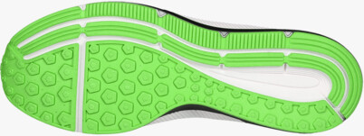 Green sports shoes VELVETY - NBLC6863