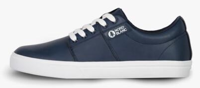 Men's blue leather shoes ARISE