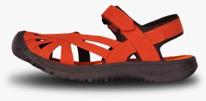 Sandale portocalii outdoor pentru femei GLARY - NBSS6881