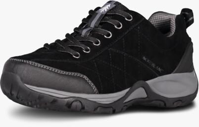 Fekete női outdoor bőr cipő MAIN LADY