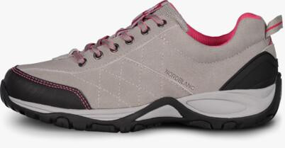 Szürke női outdoor bőr cipő MAIN LADY