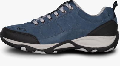 Modré pánské kožené outdoorové boty MAIN - NBLC82