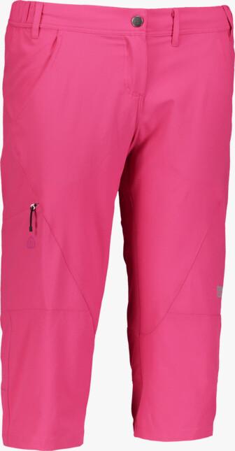 Ružové dámske ľahké outdoorové kraťasy RITZY
