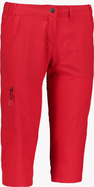 Červené dámske ľahké outdoorové kraťasy RITZY