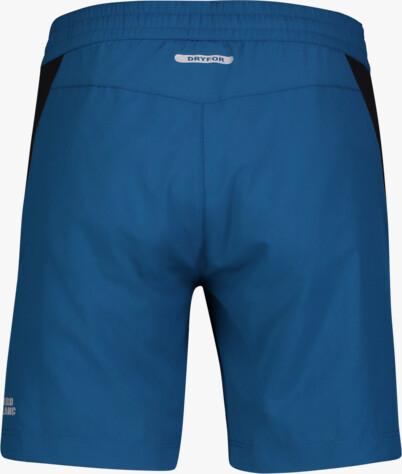 Modré pánské fitness kraťasy GYM