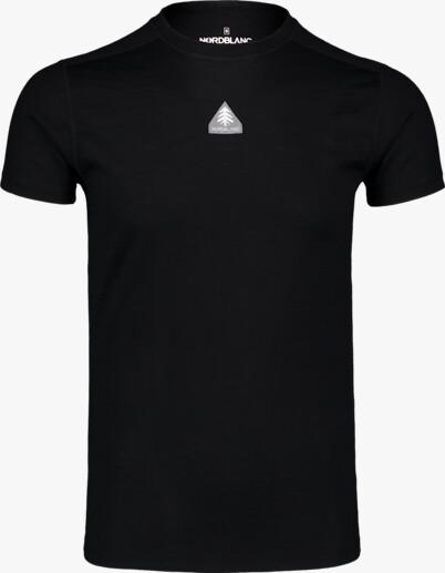 Černé pánské termo MERINO tričko REPONSE - NBWFM6869