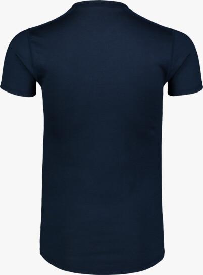Modré pánské termo MERINO tričko REPONSE - NBWFM6869