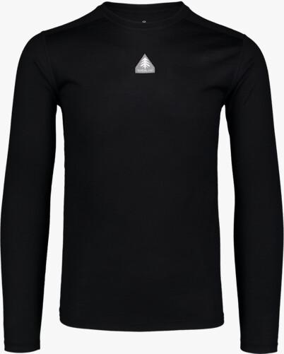 Černé pánské termo MERINO triko SOLACE - NBWFM6870