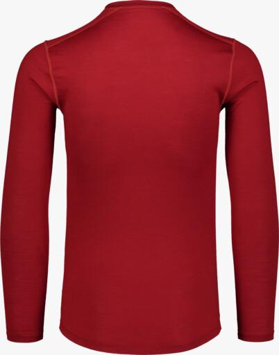 Oranžové pánské termo MERINO triko SOLACE - NBWFM6870
