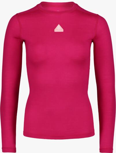 Rózsaszín női termikus merino póló UNION